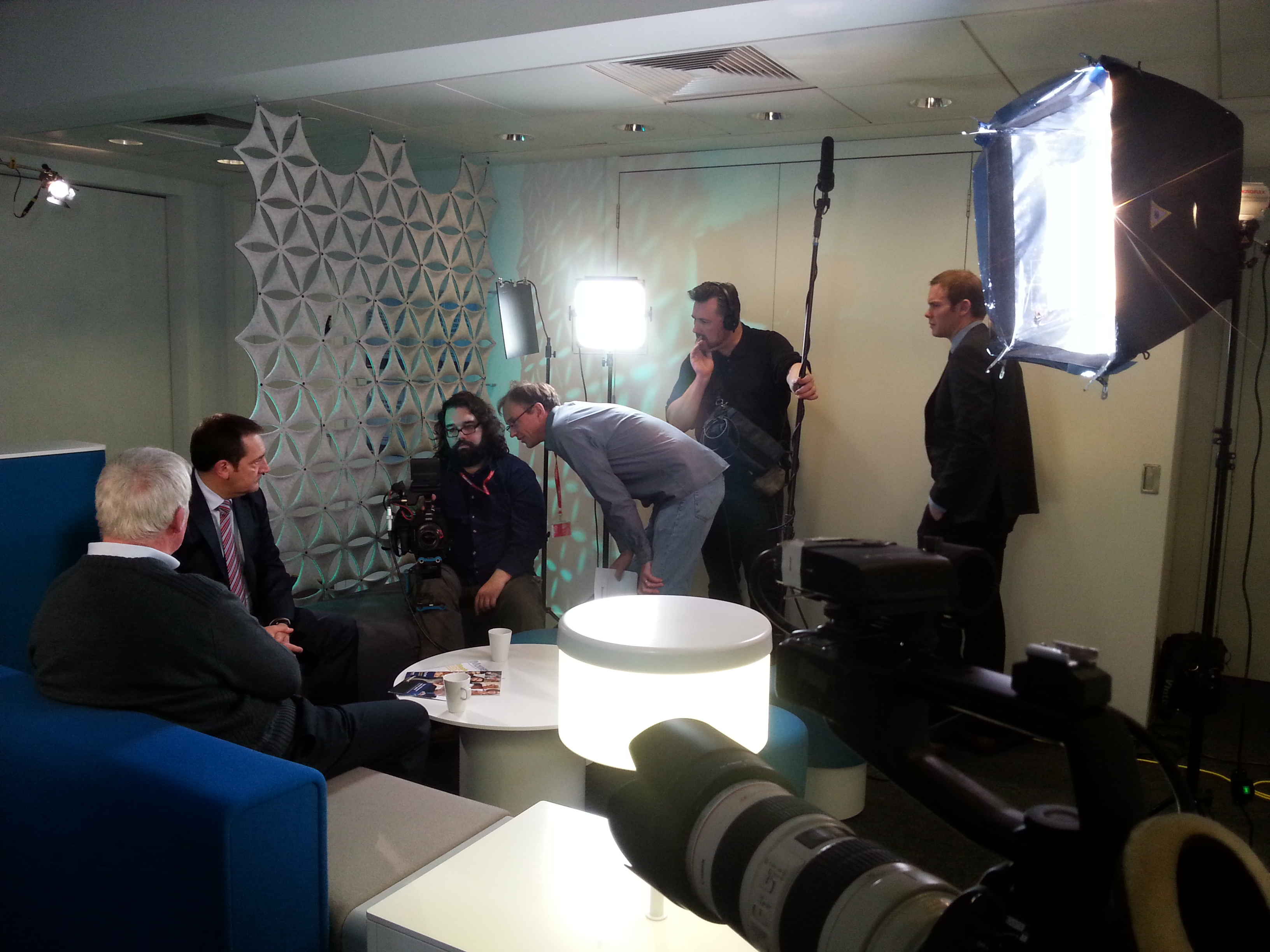 corporate video shoot edinburgh